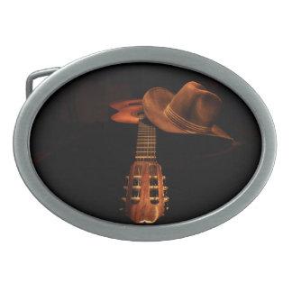 Cowboy-Gürtelschnalle Ovale Gürtelschnalle