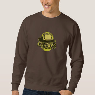 Cowboy! Hut! Gelb Sweatshirt