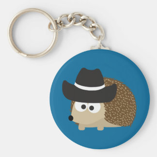 Cowboy-Igel Schlüsselanhänger