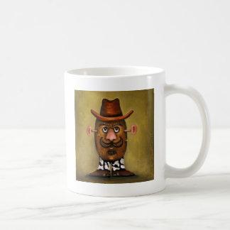 Cowboy-Kartoffel Kaffeetasse