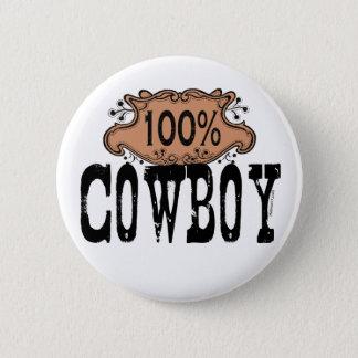 Cowboy-Knopf 100% Runder Button 5,7 Cm