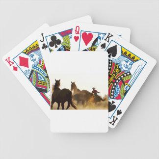 Cowboy Lassopferd Bicycle Spielkarten