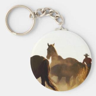 Cowboy Lassopferd Schlüsselanhänger