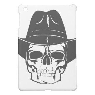 Cowboy-Schädel mit Hut iPad Mini Hülle