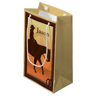 Cowboy und Pferd entwerfen zu Pferde SGB Kleine Geschenktüte