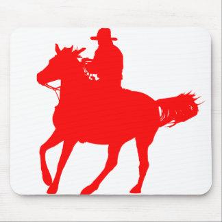Cowboy und sein Pferd Mauspad