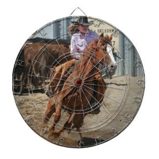 cowgir dartscheibe