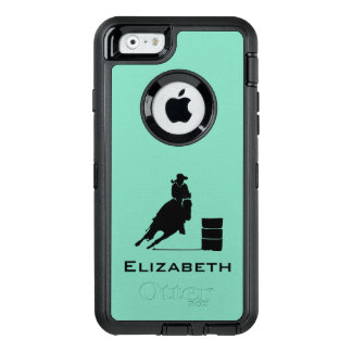 Cowgirl-Fassracer-Silhouette-Rodeo OtterBox iPhone 6/6s Hülle