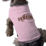 Cowgirl-Hund mit Lasso - Western Hundeshirts