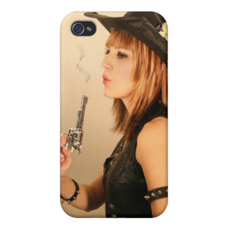 Cowgirl iPhone 4 Cover