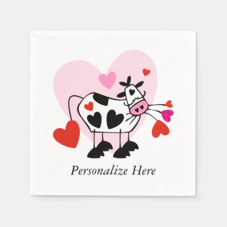 Cowgirl-Liebe Papierservietten