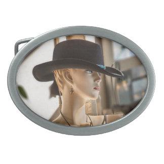 Cowgirl Ovale Gürtelschnallen