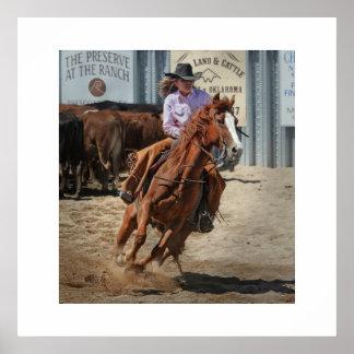 Cowgirl postieren poster
