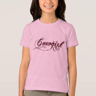 Cowgirl-T - Shirt Hülse der Mädchen kurzer