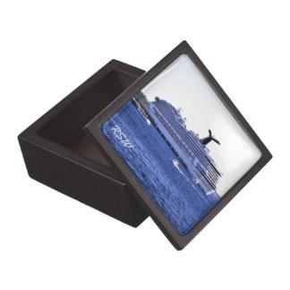 Cozumel-Kreuzfahrt-Schiffs-Besuch mit Monogramm Kiste