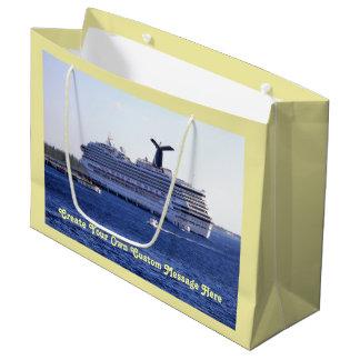 Cozumel-Kreuzschiff-Besuchs-Gewohnheit Große Geschenktüte