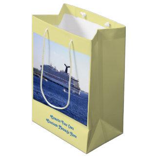 Cozumel-Kreuzschiff-Besuchs-Gewohnheit Mittlere Geschenktüte