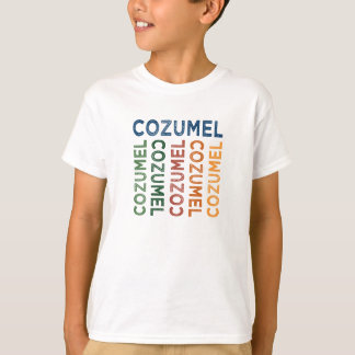 Cozumel-niedliches buntes T-Shirt