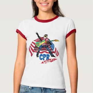 Cpr-Felsen atmen auf Amerika T-Shirt