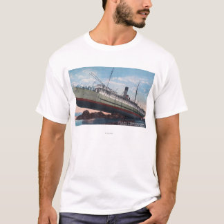 CPR SS Prinzessin May WreckSentinel Island, AK T-Shirt