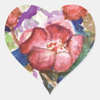 crabapple3 Herz-Aufkleber