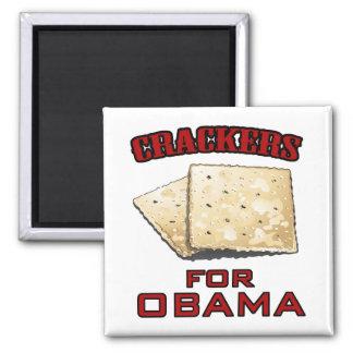 Cracker für Obama Quadratischer Magnet