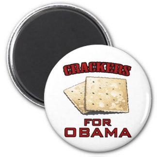 Cracker für Obama Runder Magnet 5,7 Cm