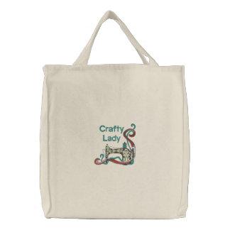 Crafty Dame Sewing Bestickte Taschen