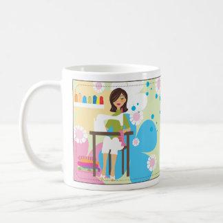 Crafty Mädchen-Tasse Tasse