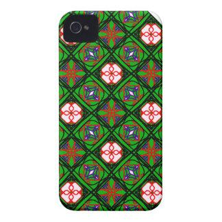 Crafty Textilmuster Case-Mate iPhone 4 Hüllen