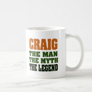 Craig - der Mann, der Mythos, die Legende Kaffeetasse