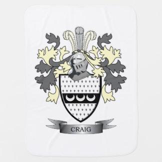 Craig-Familienwappen-Wappen Babydecke