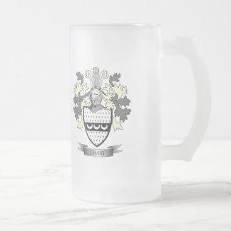 Craig-Familienwappen-Wappen Mattglas Bierglas