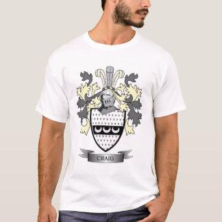 Craig-Familienwappen-Wappen T-Shirt