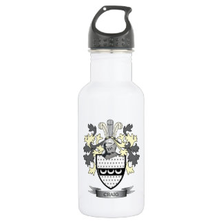 Craig-Familienwappen-Wappen Trinkflasche