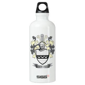 Craig-Familienwappen-Wappen Wasserflasche