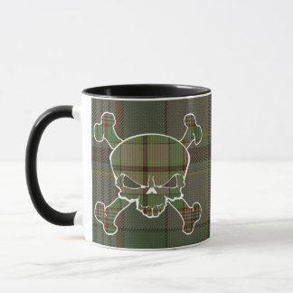 Craigtartan-Schädel keine Fahnen-Tasse Tasse