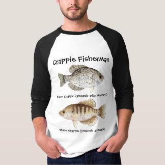 Crappie-Fischer T-Shirt