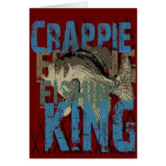 Crappie Fishin König Karte