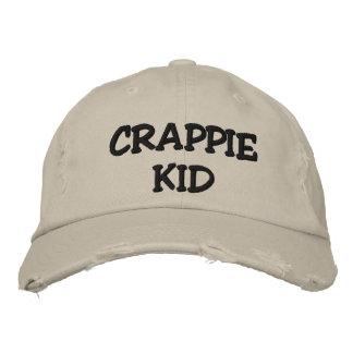 CRAPPIE-KIND - GESTICKTER (UND KUNDENGERECHTER) BESTICKTE BASEBALLKAPPE