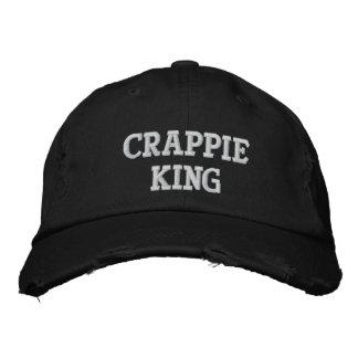 Crappie-König - kundengerechter gestickter Hut