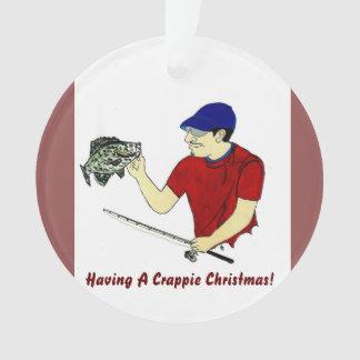Crapppie Weihnachten Ornament