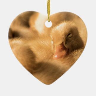 CrawfordBethany Kameradschaftsgeist Keramik Herz-Ornament
