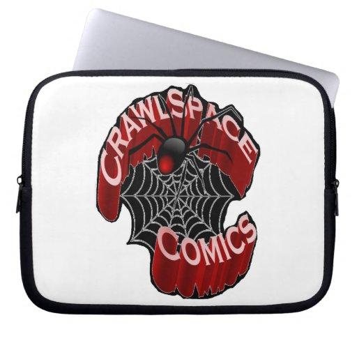 CrawlSpace Comic-Laptop-Hülse Laptop Sleeve Schutzhüllen
