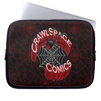 CrawlSpace Comic-Laptop-Hülsen-Netz-Entwurf Laptop Schutzhüllen