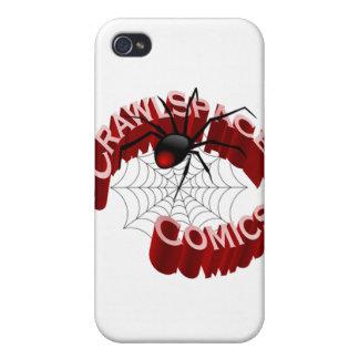 CrawlSpace Comic-Speck-Kasten iPhone 4 Schutzhüllen