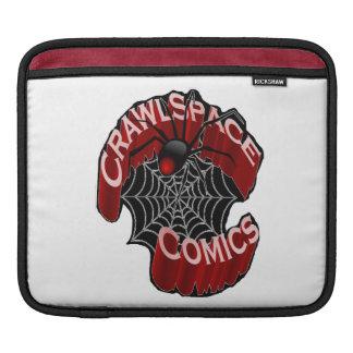 CrawlSpace Comicen iPad Hülse iPad Sleeves
