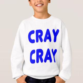 Cray Cray Internet Memes Königsblau Sweatshirt