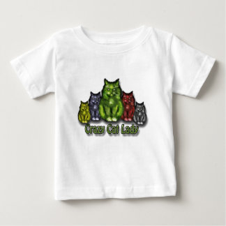 Crazy Cat Lady Baby T-shirt