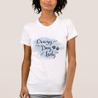 Crazy Dog Lady (Blue) T-Shirt